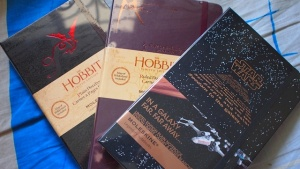 The Hobbit Moleskines 2012