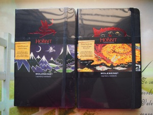 The Hobbit Moleskines 2013
