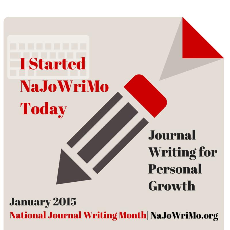 #NaJoWriMo National Journal Writing Month