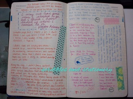 More daily journalling - I took some inspiration from the various Hobonichi Techo videos