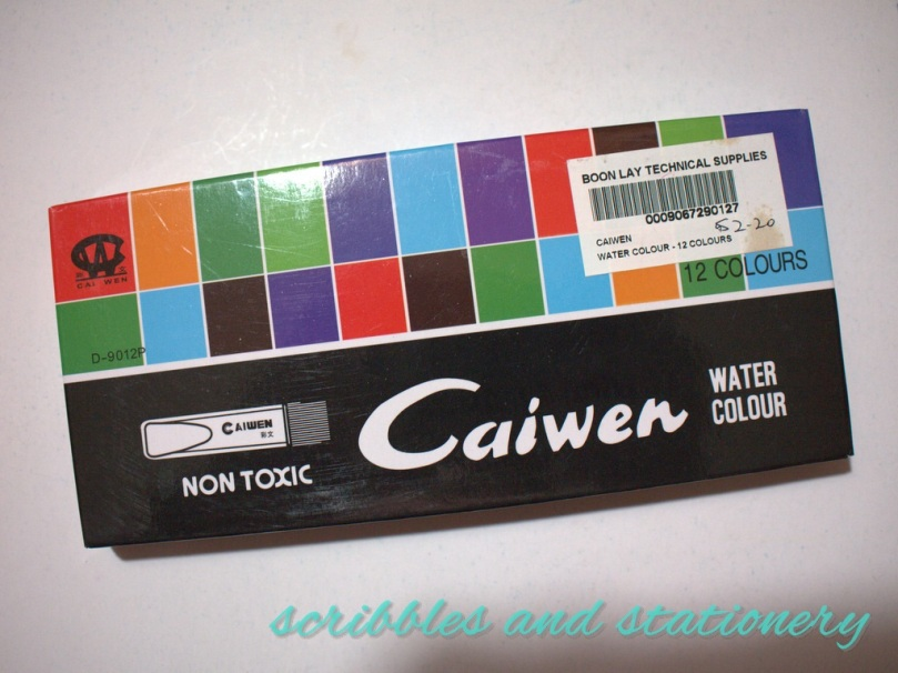 made-in-china caiwen water colours