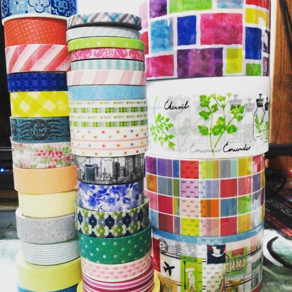 washi tapes galore