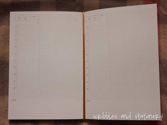 Review: 2016 dated and undated planners from Chuyu Culture