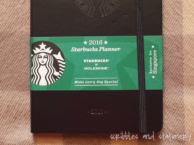 Starbucks x Moleskine 2016 Starbucks Planner (Singapore Exclusive)