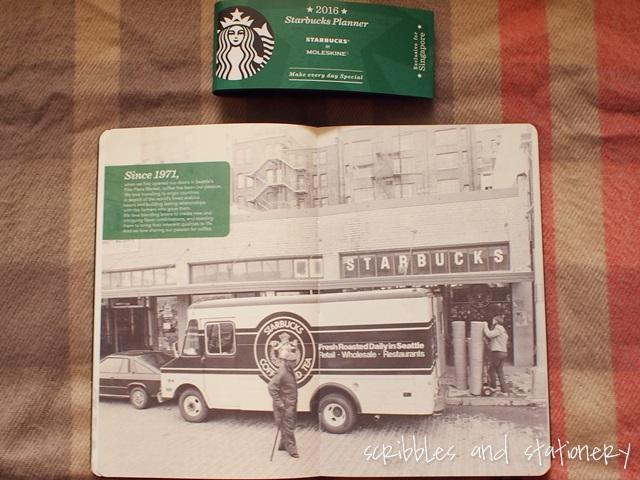 Starbucks x Moleskine 2016 Starbucks Planner (Singapore Exclusive)