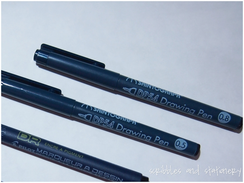 Review: Pilot Pigment Ink Drawing Pens by Scribbles and Stationery