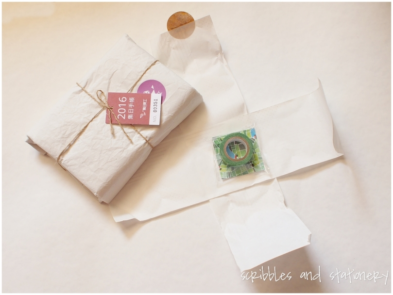 Unboxing: 集日美工 365daysTW Daily Journal + Washi Tape