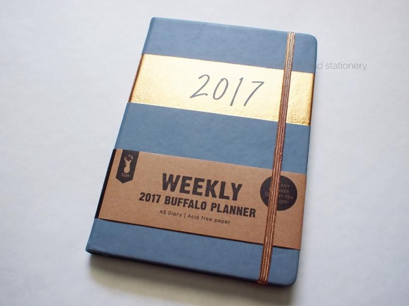 Typo Weekly 2017 Buffalo Planner