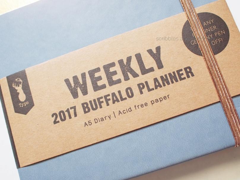Typo Weekly 2018 Buffalo Planner