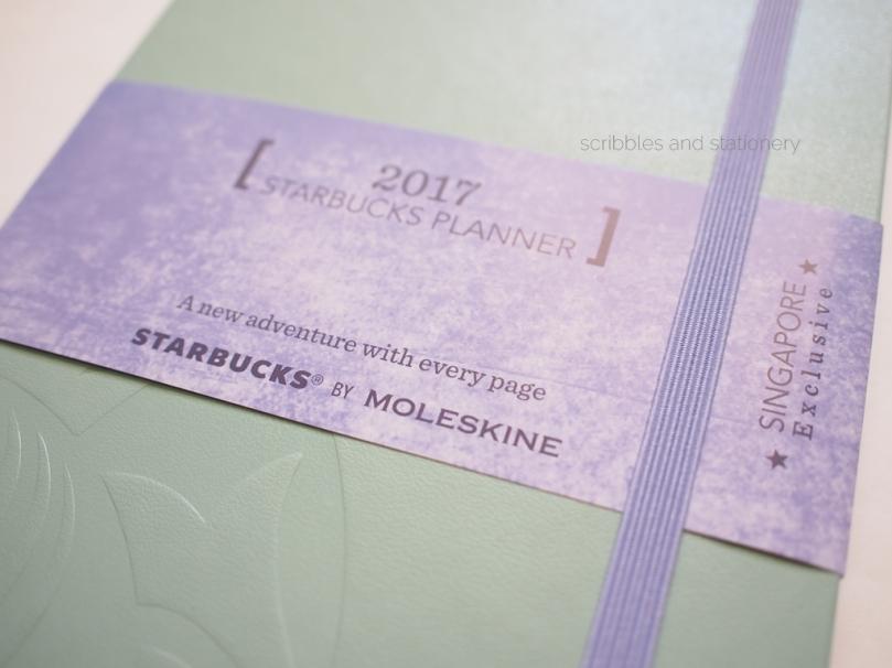 Starbucks x Moleskine 2017 Planner (Singapore)