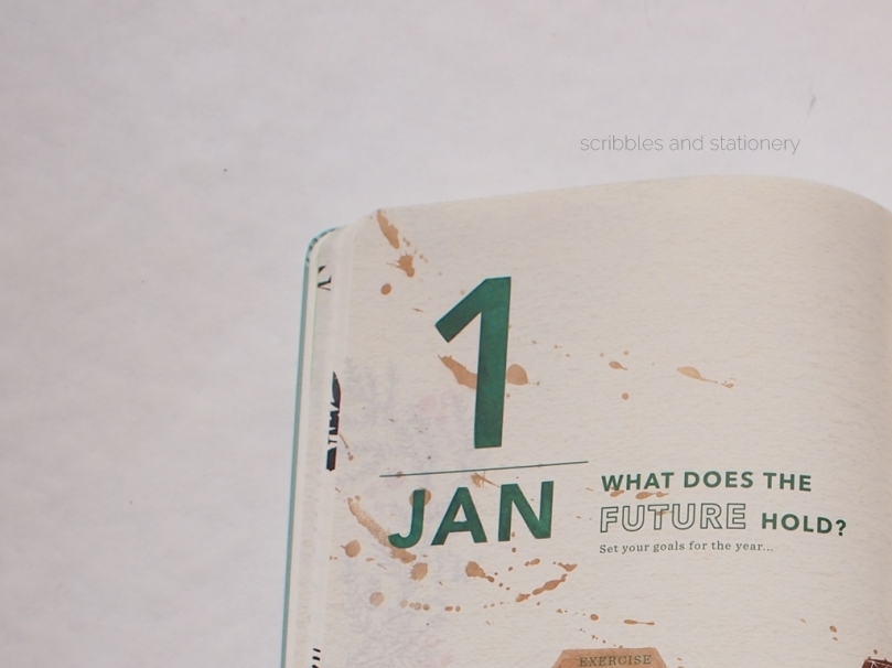 Starbucks x Moleskine Planner 2017 (Singapore) January What Does The Future Hold?