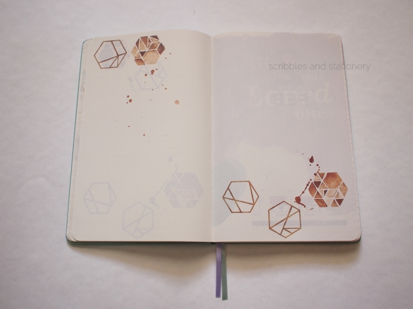 Starbucks x Moleskine 2017 Planner (Singapore) End Of Jan design