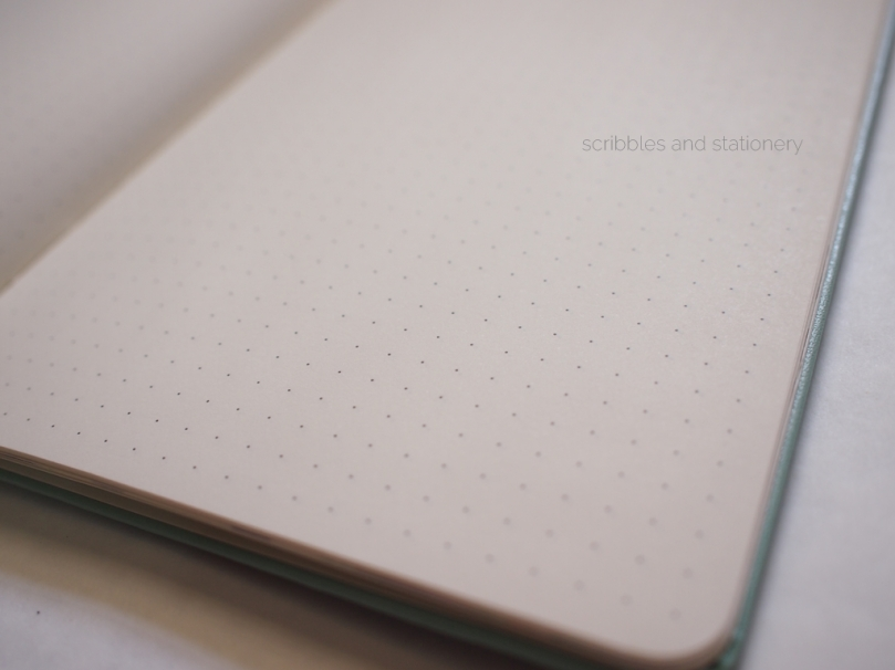 Starbucks x Moleskine 2017 Planner (Singapore) Dotted pages
