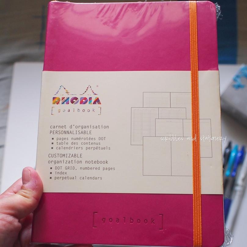 Rhodia goalbook cover